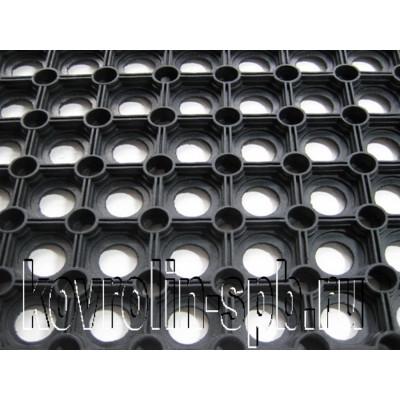 Грязезащитные покрытия Коврики ячеистые резиновые Коврик ячеистый 100х150х1,6