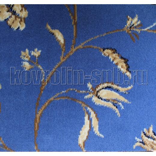 Ковролин бытовой Тканый ковролин Азалия индиго