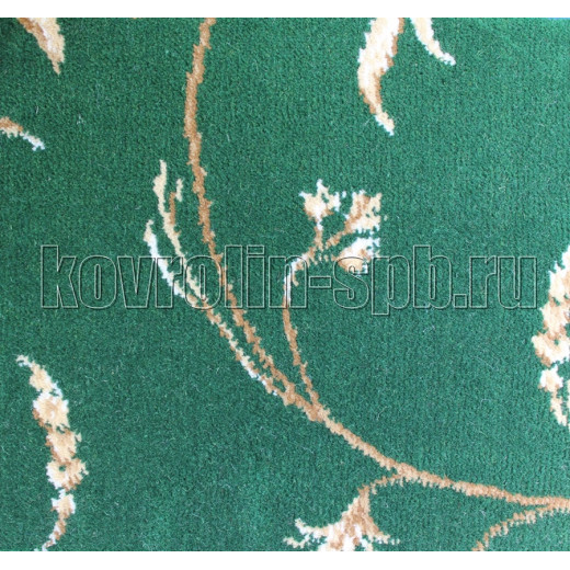 Ковролин бытовой Тканый ковролин Азалия зеленый