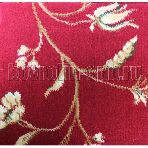 Ковролин бытовой Тканый ковролин Азалия роза