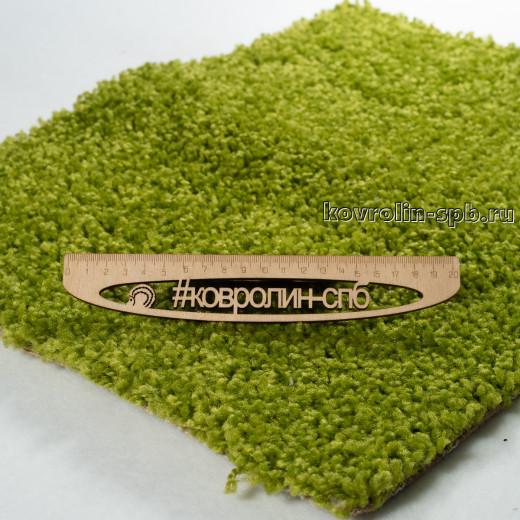 Ковролин бытовой Тканый ковролин Фьюжн зеленый