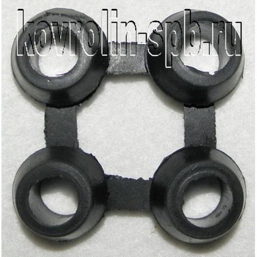 Грязезащитные покрытия Коврики ячеистые резиновые Соединительный элемент 16h мм