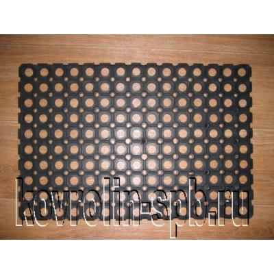 Грязезащитные покрытия Коврики ячеистые резиновые Коврик ячеистый 50х100х2,2