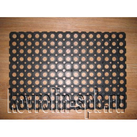 Грязезащитные покрытия Коврики ячеистые резиновые Коврик ячеистый 40х60х1,6