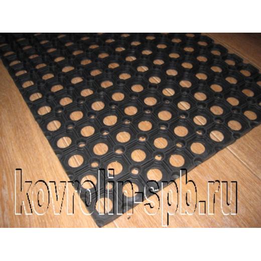 Грязезащитные покрытия Коврики ячеистые резиновые Коврик ячеистый 40х60х2,2