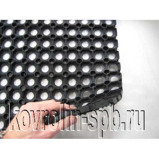 Грязезащитные покрытия Коврики ячеистые резиновые Коврик ячеистый 60х80х1,6