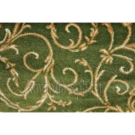 Ковролин бытовой Тканый ковролин Верона зеленая