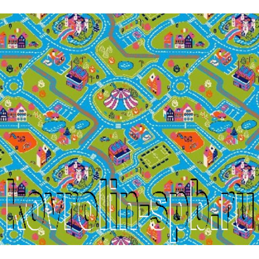 Ковролин бытовой Детский ковролин Кидс