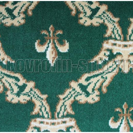Ковролин бытовой Тканый ковролин Корона зеленый