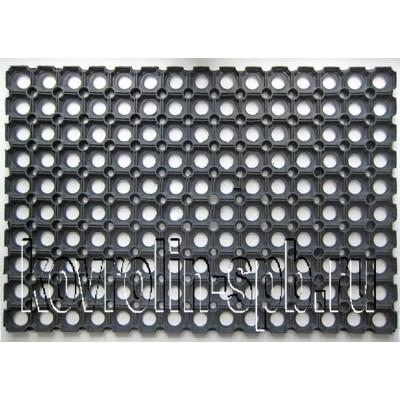 Грязезащитные покрытия Коврики ячеистые резиновые Коврик ячеистый 100х150х2,2