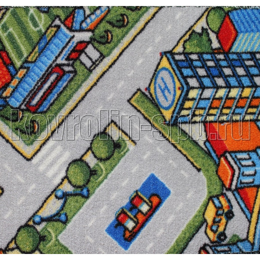 Ковролин бытовой Детский ковролин Мегаполис 950