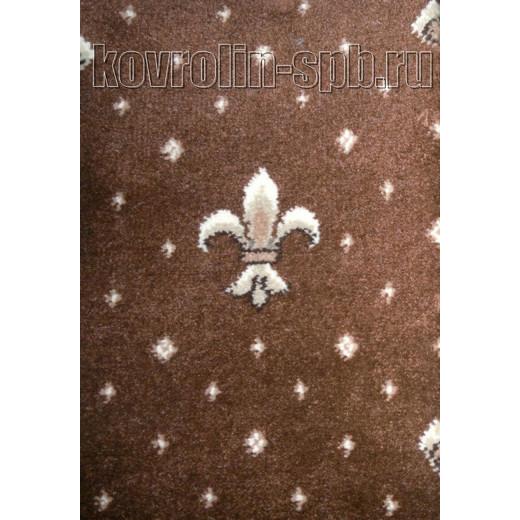 Ковролин бытовой Тканый ковролин Парадный светло-коричневый