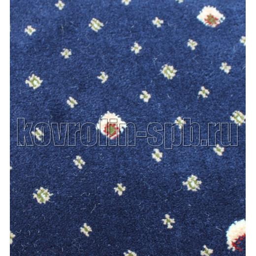 Ковролин бытовой Тканый ковролин Парадный синий