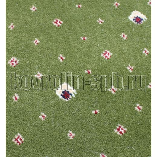 Ковролин бытовой Тканый ковролин Парадный зеленый