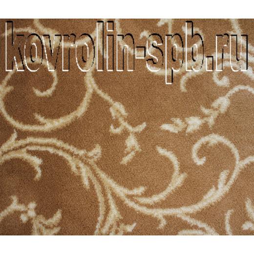 Ковролин бытовой Тканый ковролин Верона коричневый